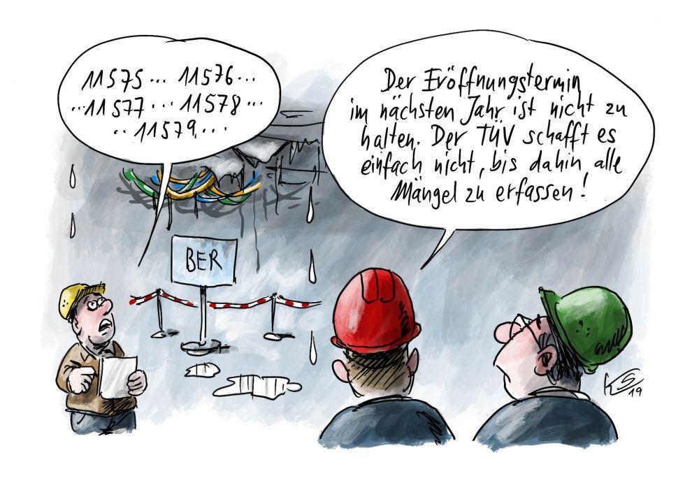 BER - Eröffnungstermin