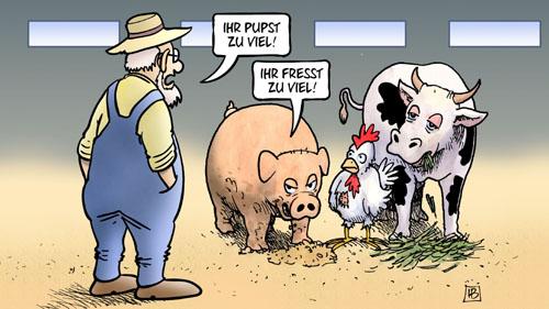 Fleisch / Ernährung: Alles eine Frage der Perspektive