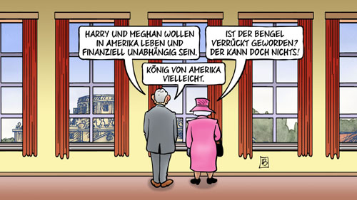Harry und Meghan kehren der Königsfamilie den Rücken