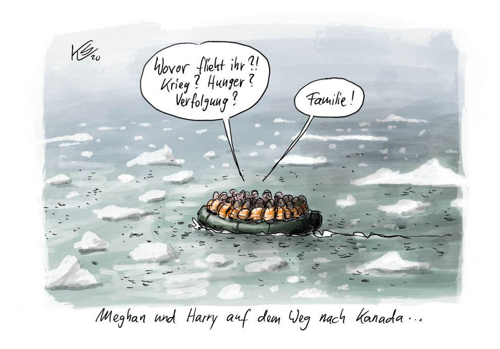 Mexit: Meghan und Prinz Harry fliehen